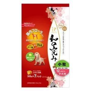 日清ペットフード ジェーピースタイル 和の究み 小粒 12ヶ月までの子犬用 2.1kg(300g×7袋)