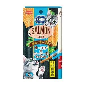 日本ペットフード コンボキャットサーモンスティックシーフードミックス味 7本