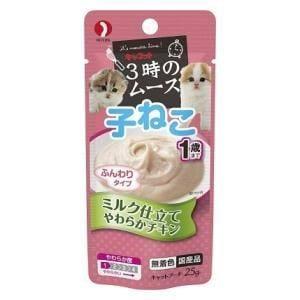 ペットライン キャネット 3時のムース 子ねこ用 ミルク仕立て 25g
