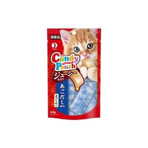 ペットライン キャネット キャンディーパウチ ジューシー仕立てアゴ出汁風味 48g