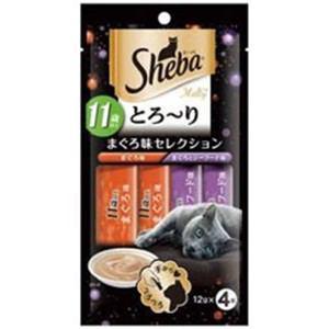 マースジャパン シーバ トローリ メルティ 11歳以上 マグロ味セレクション