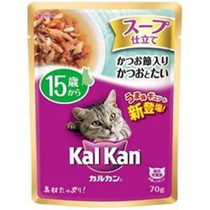 マースジャパン カルカンパウチ スープ仕立て 15歳から かつお節入りかつおとたい 70g