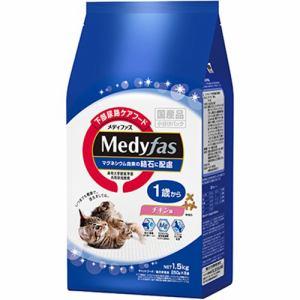 ペットライン 下部尿路ケアフード メディファス 1歳から チキン味 1.5kg