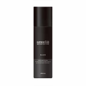 マッシーニ クイックヘアカバースプレー (ブラック) (140g)