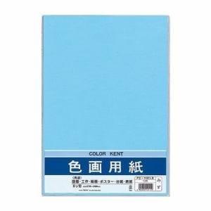 マルアイ Pエ-N83LB 色画用紙 N831 みず