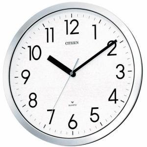 リズム時計 4MG522-050 掛時計 スペイシーM522 クロームメッキ仕上