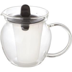 AGCテクノグラス K853T-BK お茶ポット iwaki 480ML ブラック