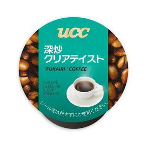 UCC上島珈琲 K-Cup パック 「UCC深炒クリアーテイスト」(12杯分) SC8024