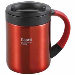 CAPTAIN STAG M-5361 キャプテンスタッグ シーエスプリ ダブルステンレスマグカップ280(レッド)