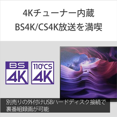 ソニー KJ-48A9S 4K有機ELテレビ BRAVIA 48V