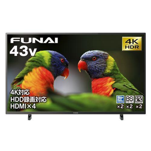 FUNAI FL-43U3040 4K対応液晶テレビ 43V型