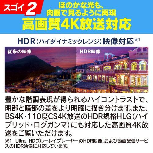 FUNAI FL-55UQ540 Qdt TV 4K量子ドットテレビ 55V型