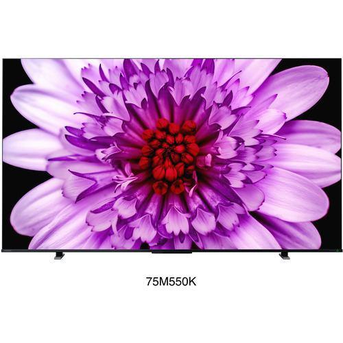 東芝 75M550K 4K 液晶TV レグザ ブラック
