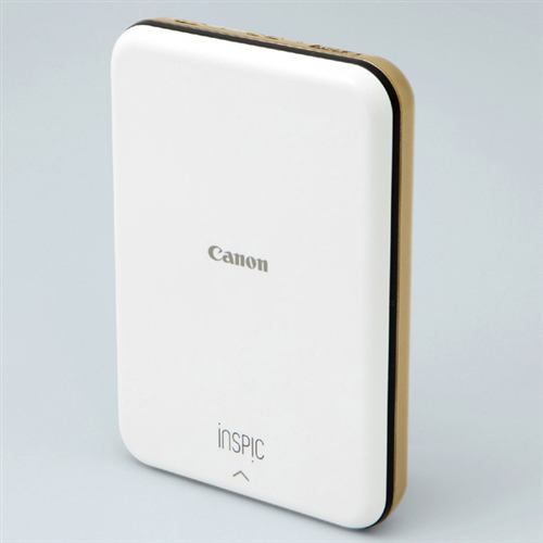 キヤノン PV-123-GD スマートフォン専用ミニフォトプリンター iNSPiC ゴールド