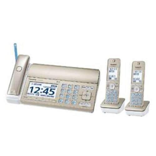 ファックス パナソニック 普通紙 子機2台 KX-PZ720DW-N FAX機 おたっくす シャンパンゴールド 子機2台 /普通紙