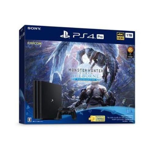 "PlayStation4 Pro ""モンスターハンターワールド:アイスボーン マスターエディション"" Starter Pack CUHJ-10032"