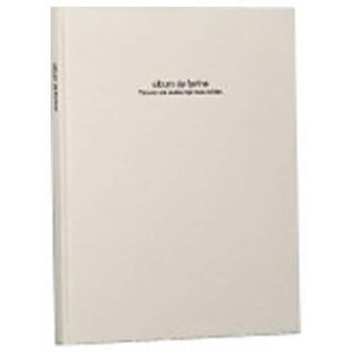 ナカバヤシ アH-A4PB-181-W 100年台紙アルバム「ドゥ ファビネ」(A4ノビ台紙)