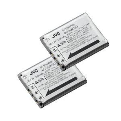 JVC リチウムイオンバッテリー  BN-VG212  2個セット BNVG2122