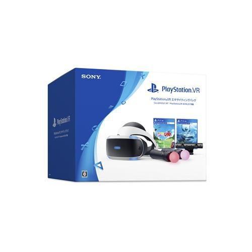 "PlayStationVRエキサイティングパック""みんなのGOLF VR""・""PlayStationVRWORLDS"" 同梱 CUHJ-16008"