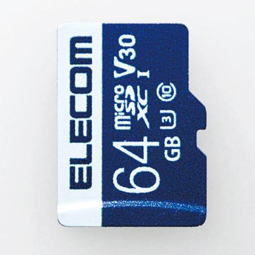 エレコム MF-MS064GU13V3R データ復旧microSDXCカード UHS-I U3 V30 64GB