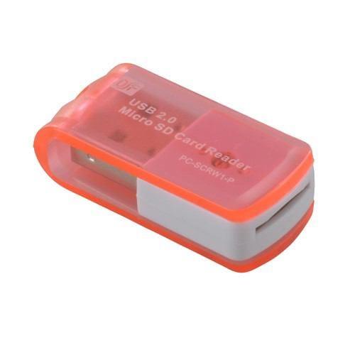 オーム電機 PC-SCRW1-P マイクロSD専用リーダー USB 8in1 ピンク
