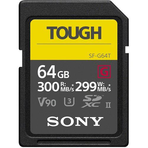 SONY SF-G64T 64GB SDXC UHS-II メモリーカード Class10