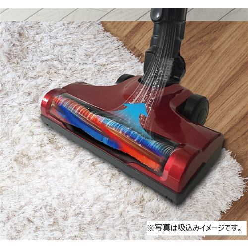 YAMADASELECT(ヤマダセレクト) YC-S36G1 ヤマダ電機オリジナルコードレススティッククリーナー レッド