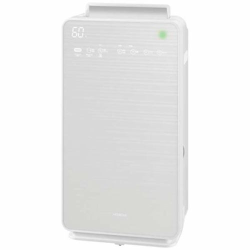 日立 EP-NVG90-W 加湿空気清浄機 「自動おそうじ クリエア」 (空清42畳まで/加湿30畳まで)  パールホワイト