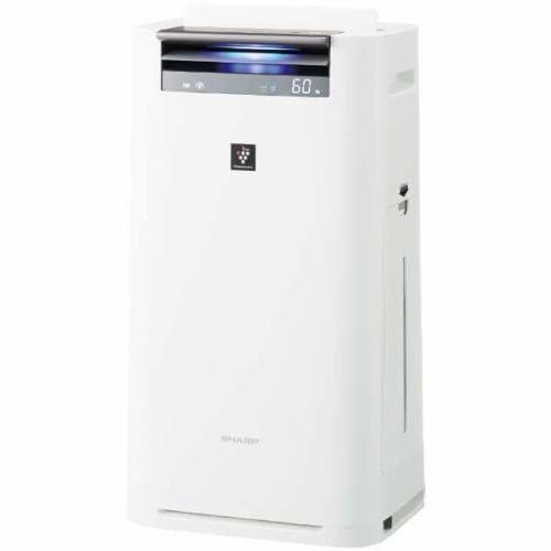 シャープ KI-JS50-W プラズマクラスター25000搭載 加湿空気清浄機(空清23畳まで/加湿15畳まで) ホワイト系