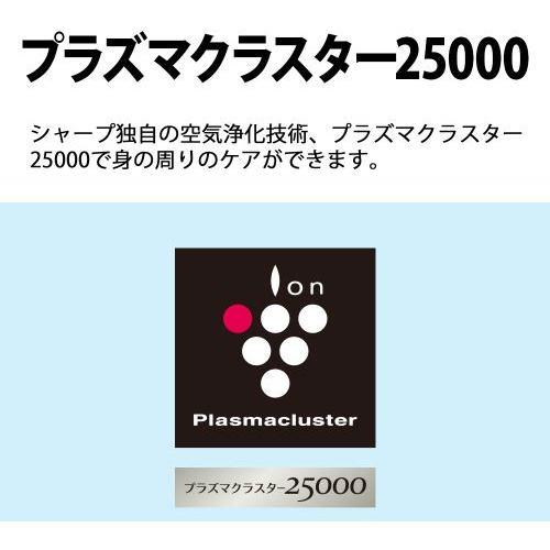 シャープ IG-NM1S-W イオン発生機 プラズマクラスター ホワイト系