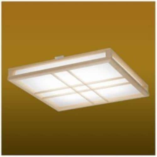 タキズミ EX10048 リモコン付LED和風シーリングライト (~10畳) 調光・調色(昼光色~電球色)
