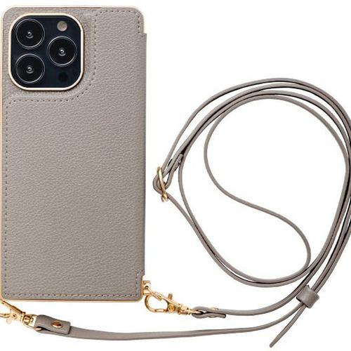 CCCフロンティア iPhone 13 Pro Cross Body Case gray ML-CSIP21LP-2CBGY