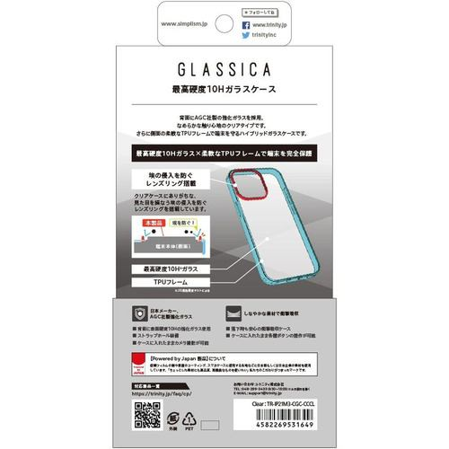 トリニティ iPhone 13 Pro [GLASSICA] 背面ガラスケース クリア TR-IP21M3-CGC-CCCL