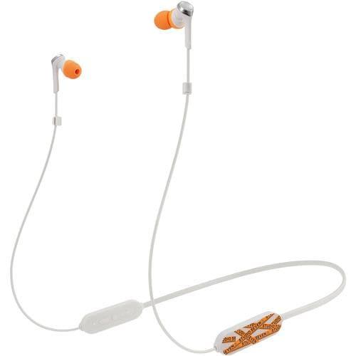 オーディオテクニカ ATH-CKSXBT SVN WH ワイヤレスイヤホン Bluetooth ネックバンド マイク対応 STUDIO SEVEN コラボモデル ホワイト