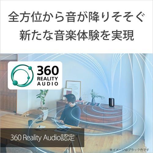 ソニー SRS-RA3000BM ワイヤレススピーカー ブラック