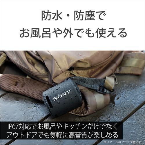 ソニー SRS-XB13 LIC ワイヤレスポータブルスピーカー XBシリーズ パウダーブルー