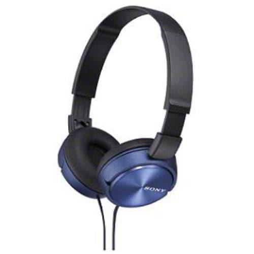 ソニー MDR-ZX310/L 密閉ダイナミック ステレオヘッドホン 1.2m ブルー