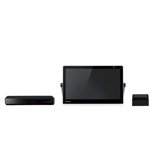 ブルーレイ対応 パナソニック 500GB Panasonic UN-15CTD10-K HDDレコーダー付ポータブルテレビ プライベートVIERA 500GB