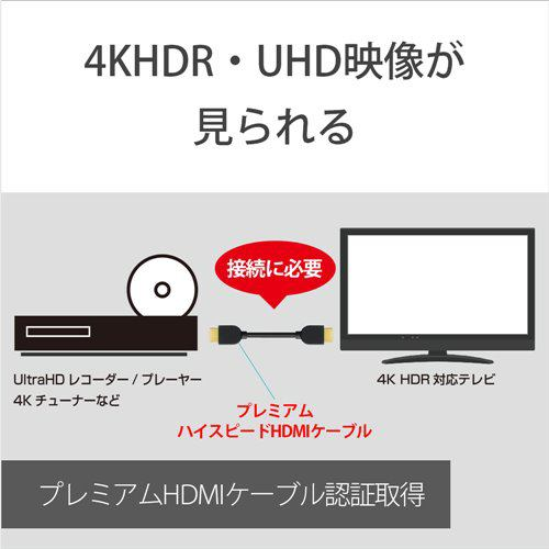ソニー DLC-HX10XF Premium HDMIケーブル 1.0m