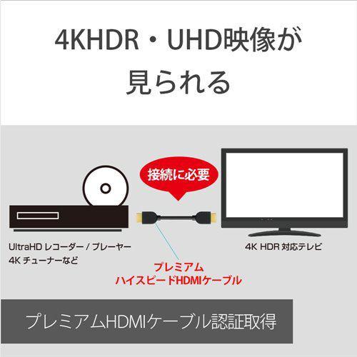 ソニー DLC-HX15  C HDMI端子用接続ケーブル プレミアムHDMIケーブルHXシリーズ 1.5m