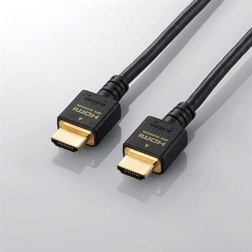 エレコム DH-HD21E10BK イーサネット対応ウルトラハイスピードHDMIケーブル 1.0m