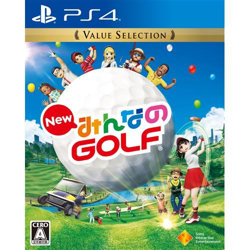 New みんなのGOLF Value Selection PS4 PCJS-66034
