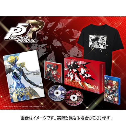 ペルソナ5 ザ・ロイヤル ストレートフラッシュ・エディション 限定版 PS4 ATS-01910