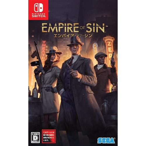 Empire of Sin エンパイア・オブ・シン Nintendo Switch HAC-P-AUGJG