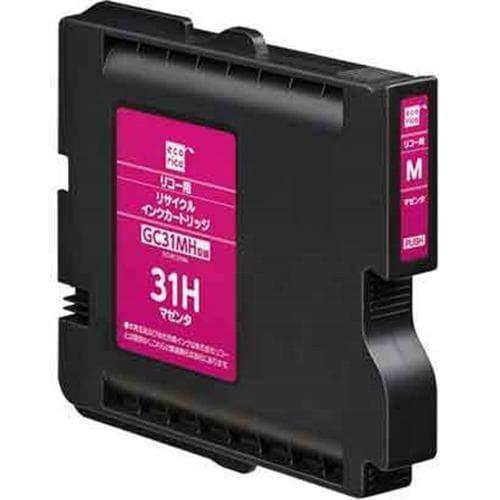 インク エコリカ カートリッジ ECI-RC31HM リサイクルインクカートリッジ マゼンタ