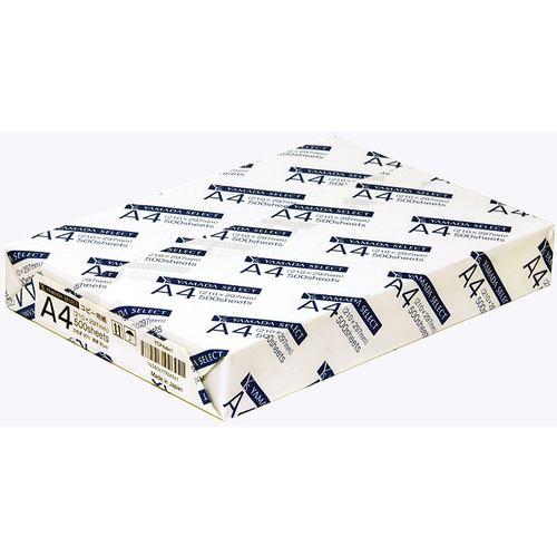 YAMADA SELECT YCPA4H1 A4コピー用紙 ホワイト 500枚