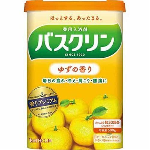 バスクリン バスクリン ゆずの香り (600g) 【医薬部外品】