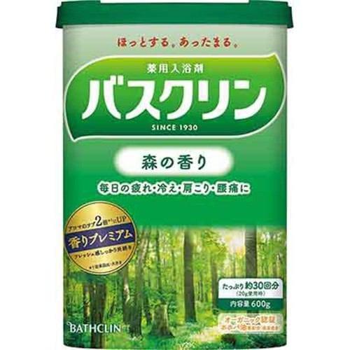 バスクリン バスクリン 森の香り (600g) 【医薬部外品】