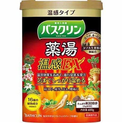バスクリン バスクリン薬湯 温感EX (600g) 【医薬部外品】
