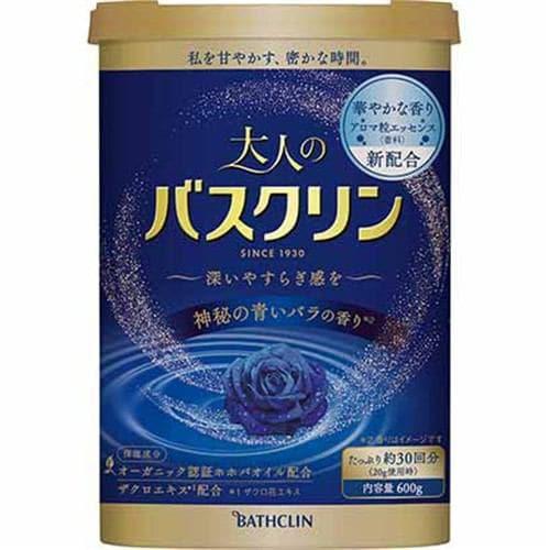 バスクリン 大人のバスクリン 神秘の青いバラ (600g)
